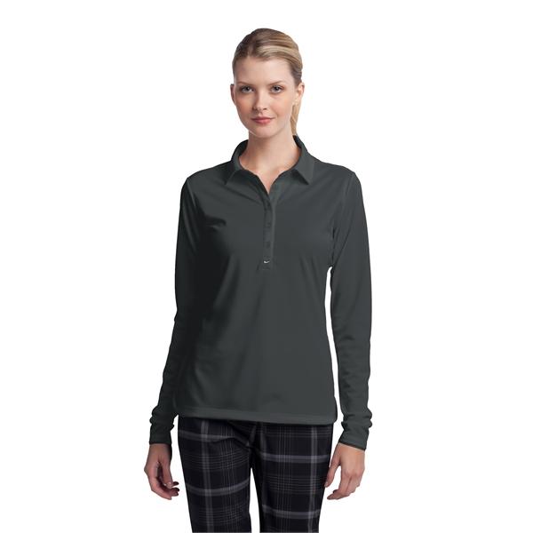47bd4960 Nike Golf Long Sleeve Dri-FIT Stretch Tech Polo - Ladies   Ice Blue ...