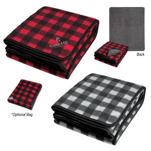 Northwoods Plaid Blanket