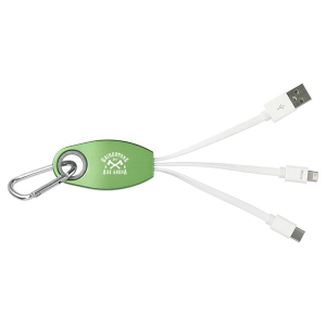 Trebel 3-in-1 Light Up Logo Cable